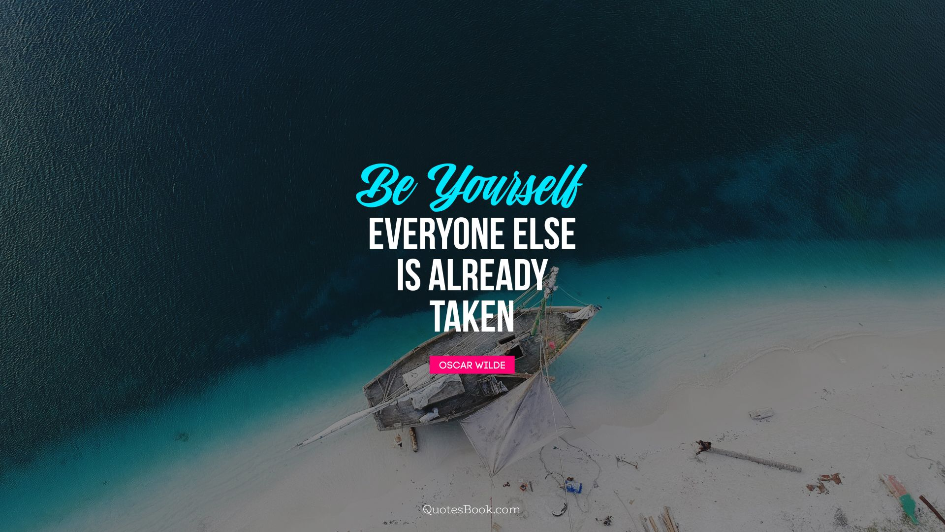Be yourself; everyone else is already taken. - Quote by Oscar Wilde