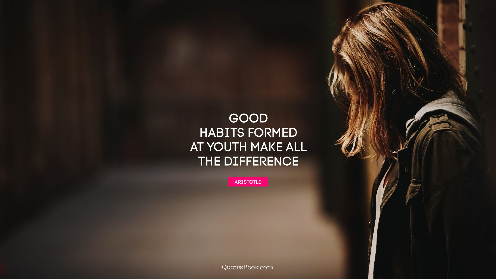 Good habits formed at youth make all the difference. - Quote by Aristotle