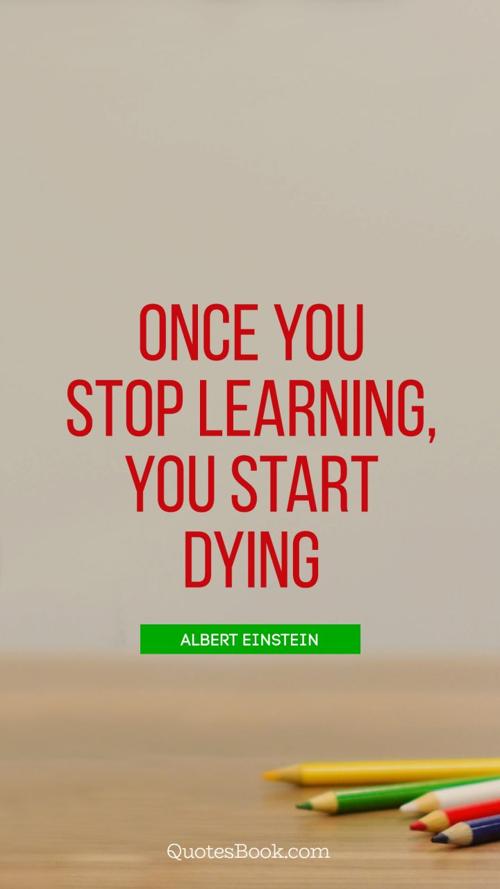 never stop learning book download