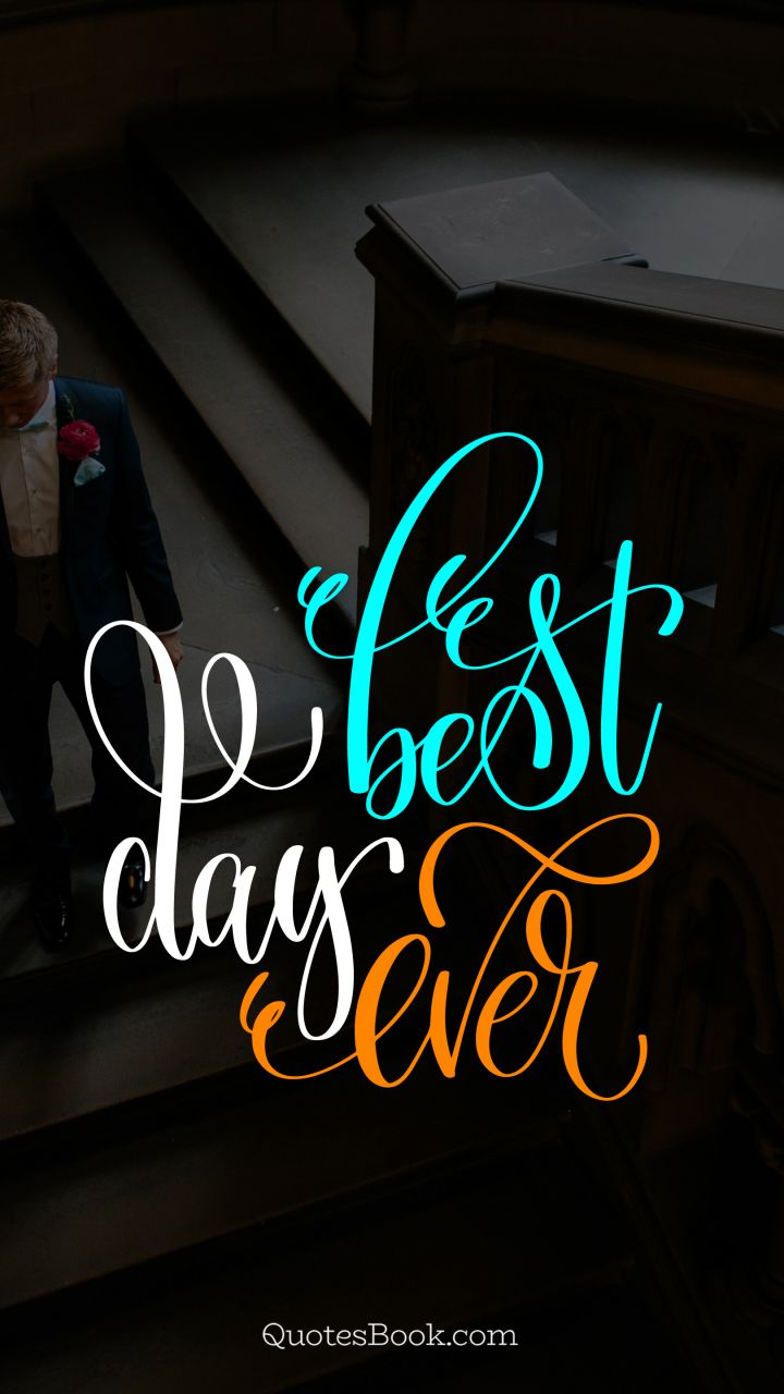 Best Day Ever Quotesbook