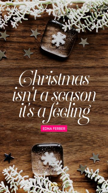 QUOTES BY Quote - Christmas is a time of year that's so romantic. Edna Ferber